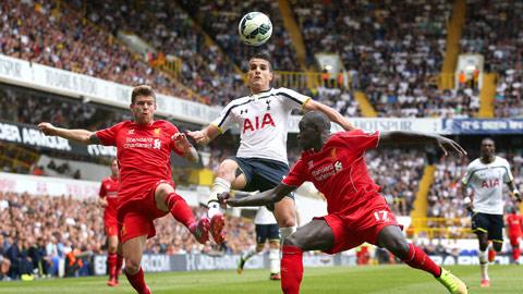 Tottenham (áo trắng) đủ sức giành ít nhất 1 điểm trước Liverpool