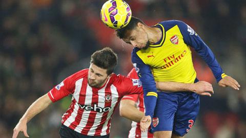 """Southampton (trái)khẳng định họ không phải là """"hiện tượng"""" nhất thời"""