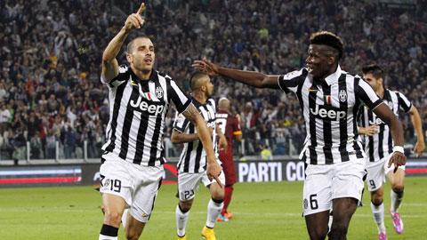 Không ai xứng đáng đeo băng đội trưởng Juve hơn Bonucci (số 19) nếu Buffon giải nghệ