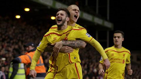 Liverpool hành quân tới sân của Southampton với phong độ rất cao