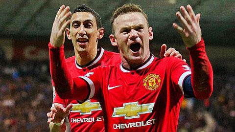 Rooney và các đồng đội hành quân tới Liberty với tham vọng giành chiến thắng