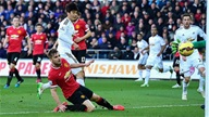 Swansea 2-1 M.U: Bộ mặt thật