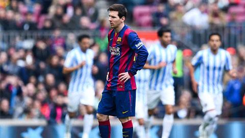 Messi tịt ngòi, Barca cũng im tiếng