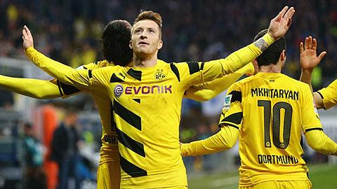 Reus và Dortmund đều có được phong độ tốt