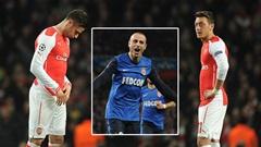 Arsenal 1-3 Monaco: Thất bại tủi hổ