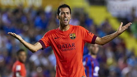 Barca trói thành công Busquets đến năm 2019