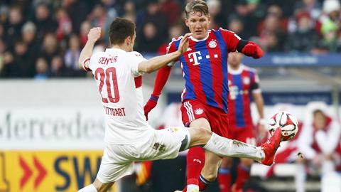 Sự ổn định là điều Bayern (áo sẫm) còn thiếu ở giai đoạn này