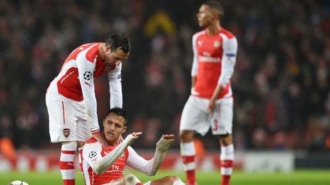 Arsenal đã không còn là chính mìnhkhi để thua Monaco