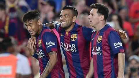 Một thắng lợi đậm đà là mục tiêu không khó với Barca dù phải đá ở Los Carmenes