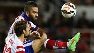 Sevilla 0-0 Atletico: Hạn bàn thắng, mưa thẻ vàng