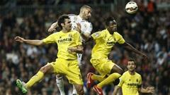 Real 1-1 Villarreal: Không thể cất cánh
