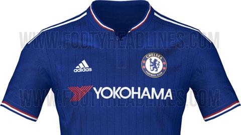 Áo thi đấu chính thức của Chelsea mùa giải mới?