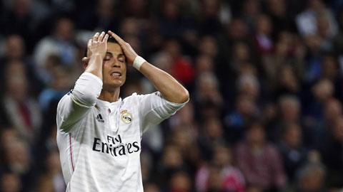 Ronaldo không còn ghi bàn đều đặn như hồi đầu mùa