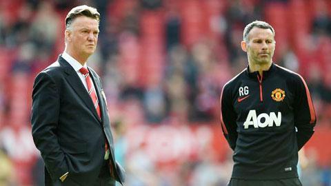 Van Gaal phủ nhận mâu thuẫn với Giggs