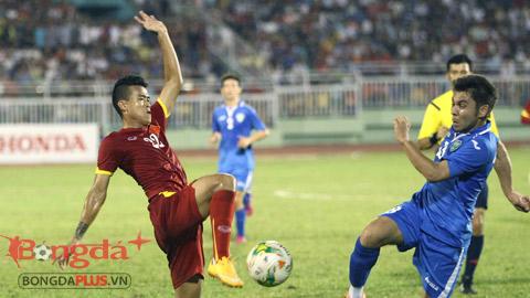 Trận đấu với Đồng Nai sẽ là màn tổng duyệt cuối cùng trước khi HLV Miura chốt danh sách đội tuyển Olympic Việt Nam - Ảnh: Anh Tài
