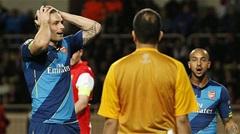 Monaco 0-2 Arsenal (chung cuộc 3-3) : không có địa chấn
