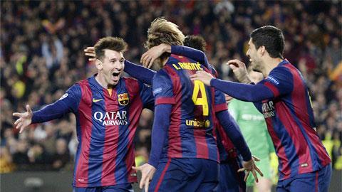 Barca cho thấy họ vẫn đang có được đẳng cấp cực cao
