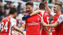Newcastle 1-2 Arsenal: Tiếp đà thăng hoa