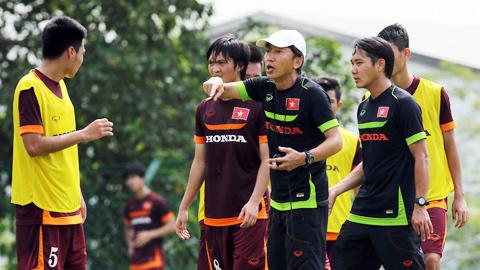 HLV Miura đã có những lựa chọn cho riêng mình về đội hình xuất phát