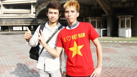 Hai chàng trai dân tộc Thái tiếp lửa U23 Việt Nam