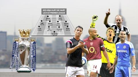 Đội hình xuất sắc nhất lịch sử Premier League: Quỷ đỏ thống trị!