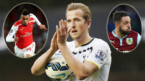 5 ứng viên sáng giá cho danh hiệu CTXS nhất Premier League 2014/15