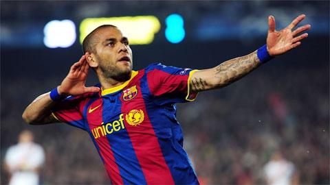 Với khả năng thích nghi tốt với lối chơi mới của Barcelona, Alves nhiều khả năng sẽ vẫn tiếp tục gắn bó với đội bóng chủ sân Nou Camp