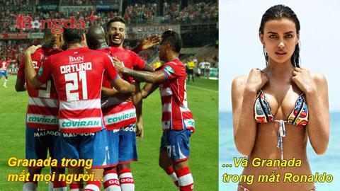 Nguyên nhân Ronaldo thăng hoa ở trận gặp Granada...