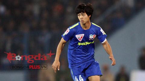 Công Phượng sẽ chạm trán Sông Lam Nghệ An trong lần đầu tham dự V.League - Ảnh: Minh Tuấn