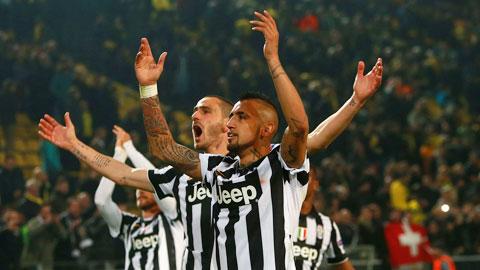 Juventus bất ngờ đảo ngược tình thế và xuất sắc giành vé đầu tiên vào chung kết