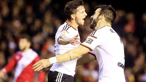 3 điểm đang ở trước mắt Valencia