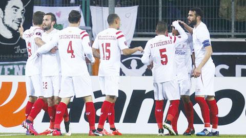 Sevilla hiện là đội bóng có phong độ cao nhất ở La Liga
