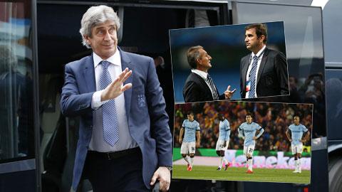 Để tái thiết Man City, HLV Pellegrini, bộ đôi Soriano - Begiristain và nhiều cầu thủ sẽ phải rời Etihad Hè này