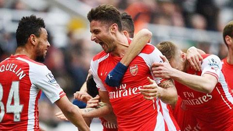 Arsenal thường chơi hay khi không phải chịu áp lực