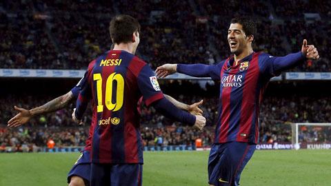 Messi và Suarez lập công giúp Barca vùi dập Almeria
