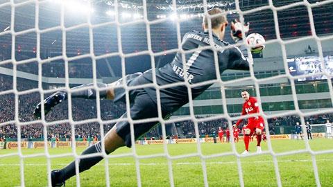 Một lần nữa Bayern lại đạt được mục đích bằng lối đá đậm chất tính toán
