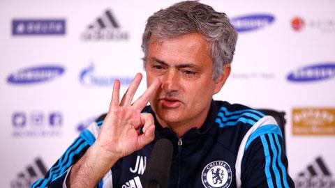 Mourinho luôn đặt cá tính vào các phát biểu