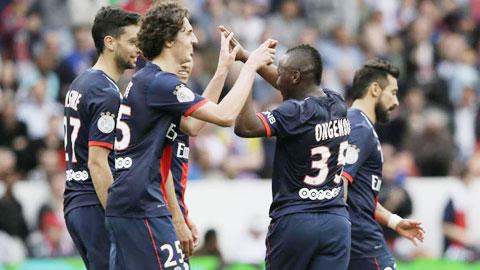 Chỉ đưa ra sân nhiều gương mặt dự bị song PSG vẫn đủ sức đè bẹp Bastia