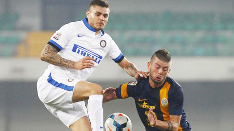 Đang khủng hoảng, Inter (trái) có thể phải trắng tay ra về