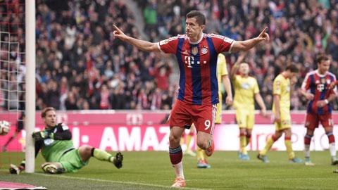 Tiếp Frankfurt của Meier đêm nay là cơ hội tuyệt vời để Lewandowski thu hẹp khoảng cách với đối thủ
