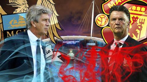 Khẩu chiến quyết liệt trước trận derby thành Manchester