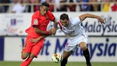 Sevilla 2-2 Barcelona:Hụt Bước
