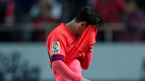 Nỗi thất vọng của Messi