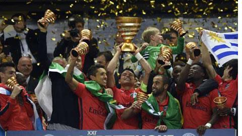 PSG mới giành cúp Liên đoàn Pháp 2015