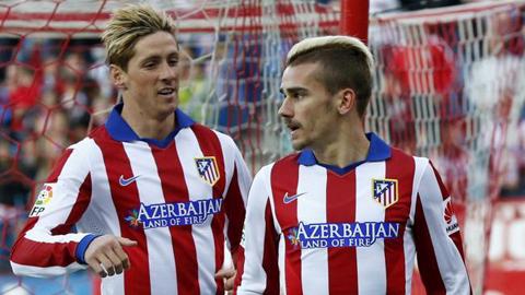 Griezmann cứu Atletico khỏi thất bại