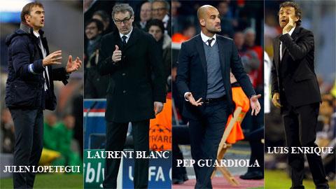 4 nhà cầm quân từng sát cánh ở Barca nay sắp hội ngộ ở tứ kết Champions League