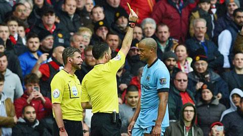 Hình ảnh đáng quên của Kompany cũng chính là hình ảnh thất bại của Man City ở trận đấu này