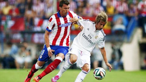 Trước Real, Mandzukic (trái) sẽ là niềm hy vọng của Atletico