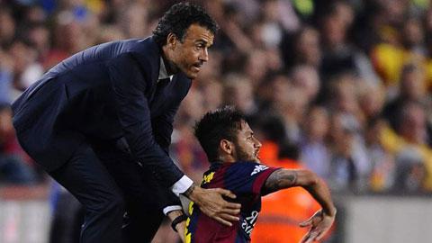 Mối bất hòa giữa HLV Enrique và Neymar có thể đẩy Barca vào một cuộc khủng hoảng