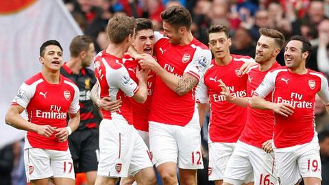 Arsenal thể hiện nhiều nét tích cực